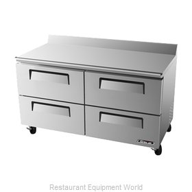 Turbo Air TWR-60SD-D4 Refrigerated Counter, Work Top