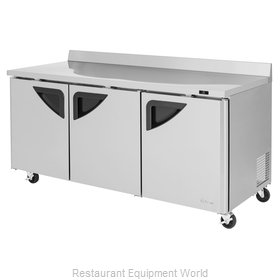 Turbo Air TWR-72SD-N Refrigerated Counter, Work Top