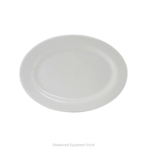 Tuxton China ALH-116 China Platter (Magnified)