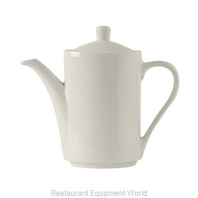 Tuxton China AMU-101 China Coffee Pot Teapot