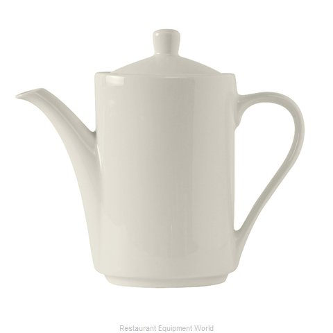 Tuxton China AMU-102 China Coffee Pot Teapot