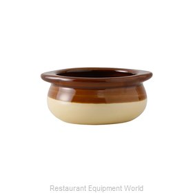 Tuxton China B6S-1203 China Onion Soup Crock