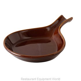 Tuxton China BAP-114 China Fry Pan Server