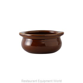 Tuxton China BAS-1003 China Onion Soup Crock