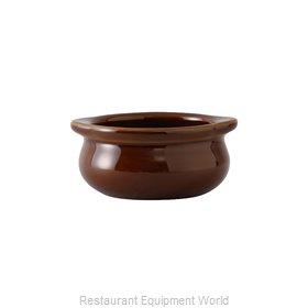 Tuxton China BAS-1003 Soup Bowl Crock, Onion