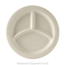Tuxton China BEA-0903 Plate/Platter, Compartment, China