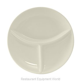 Tuxton China BEA-090A Plate/Platter, Compartment, China