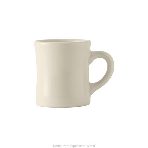 Tuxton China BEM-090B Mug, China (Magnified)