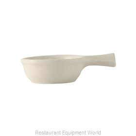 Tuxton China BES-0902 China Onion Soup Crock