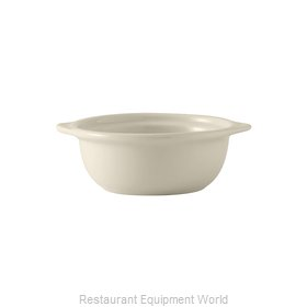 Tuxton China BES-1006 Soup Bowl Crock, Onion