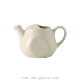 Tuxton China BET-1601 China Coffee Pot Teapot