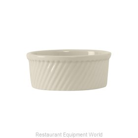 Tuxton China BEX-2104 Souffle Bowl / Dish, China