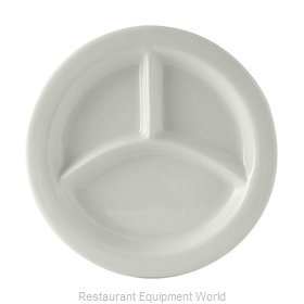 Tuxton China BPA-0903 Plate/Platter, Compartment, China