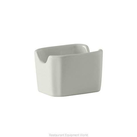 Tuxton China BWQ-034 China Sugar Packet Holder
