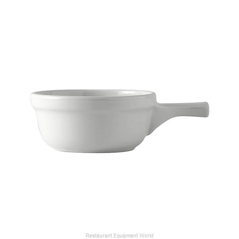 Tuxton China BWS-1202 China Onion Soup Crock