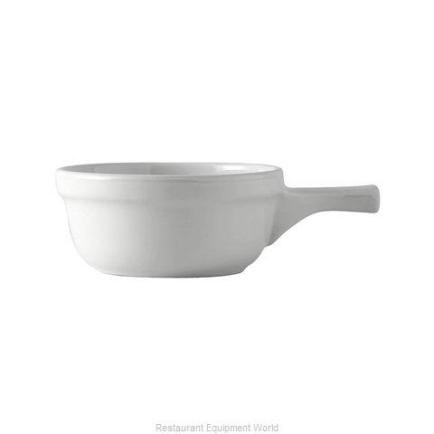 Tuxton China BWS-1202 Soup Bowl Crock, Onion