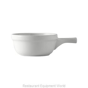 Tuxton China BWS-1202 Soup Bowl Crock, Onion