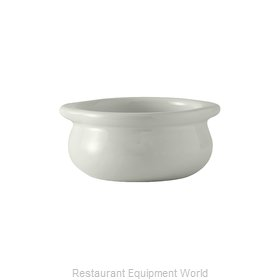 Tuxton China BWS-1203 Soup Bowl Crock, Onion