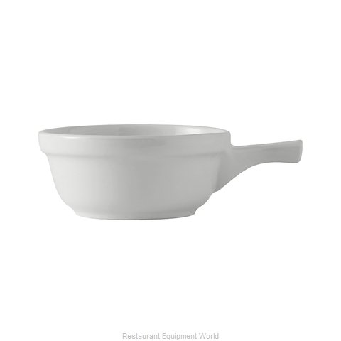 Tuxton China BWS-1402 Soup Bowl Crock, Onion