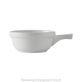 Tuxton China BWS-1402 China Onion Soup Crock