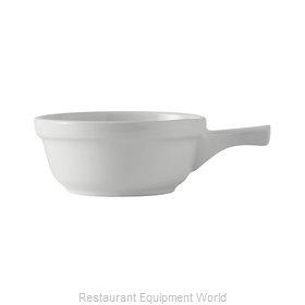 Tuxton China BWS-1402 Soup Bowl Crock, Onion