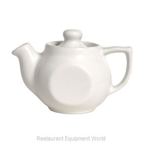 Tuxton China BWT-180 China Coffee Pot Teapot