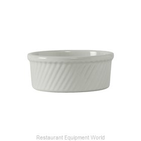 Tuxton China BWX-2104 Souffle Bowl / Dish, China