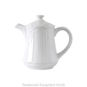 Tuxton China CHT-170 China Coffee Pot Teapot