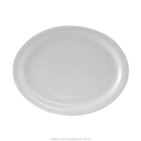Tuxton China CLH-132 China Platter (Magnified)