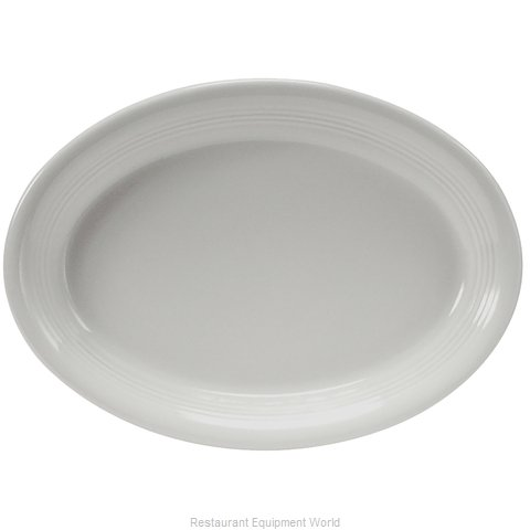 Tuxton China CWH-1142 China Platter (Magnified)