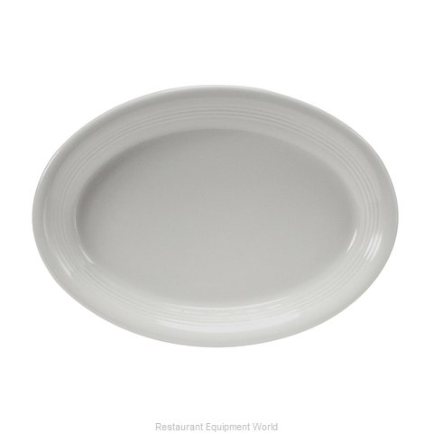 Tuxton China CWH-1352 China Platter (Magnified)