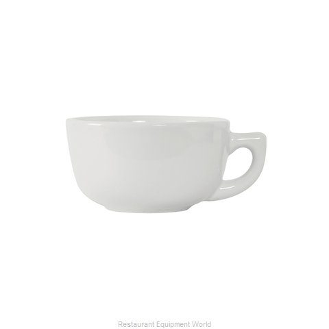 Tuxton China GLP-180 China Cappuccino Cup (Magnified)