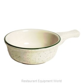 Tuxton China TES-048 China Onion Soup Crock