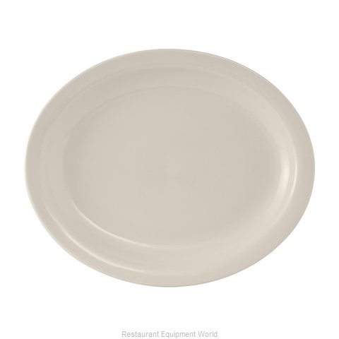 Tuxton China TNR-012 China Platter (Magnified)