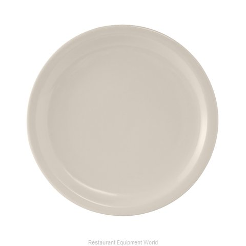 Tuxton China TNR-022 China Plate (Magnified)