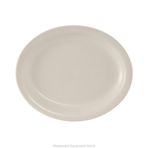 Tuxton China TNR-041 China Platter (Magnified)
