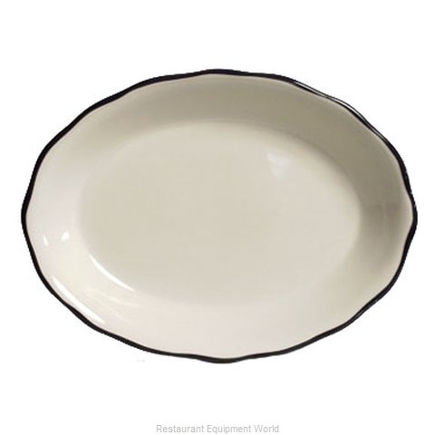 Tuxton China TSC-012B China Platter