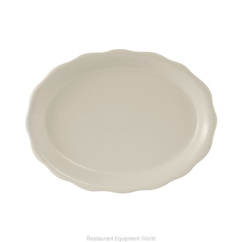 Tuxton China TSC-014 China Platter (Magnified)