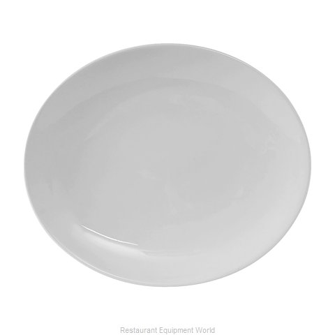 Tuxton China VPH-094 China Platter (Magnified)