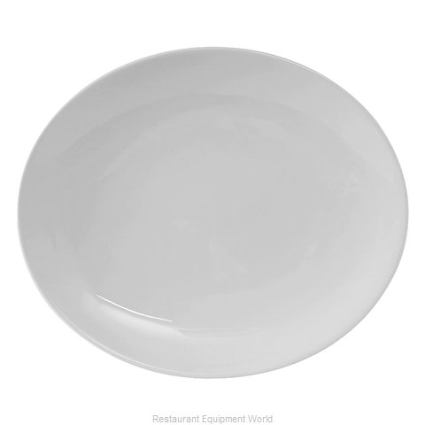 Tuxton China VPH-104 China Platter (Magnified)