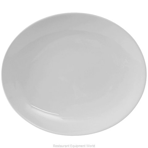 Tuxton China VPH-130 China Platter (Magnified)