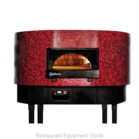Univex DOME47FT Oven, Rotary, Wood / Coal / Gas Fired