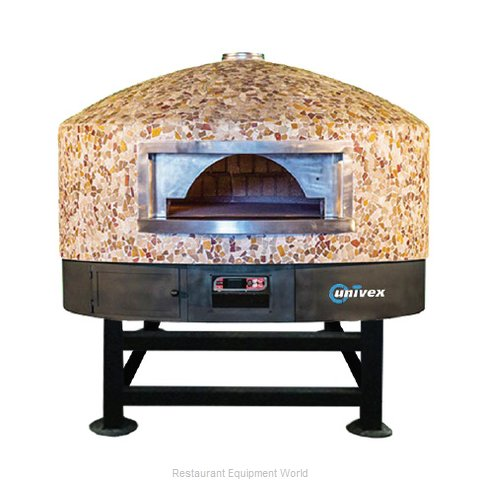 Univex DOME59RT Oven, Rotary, Wood / Coal / Gas Fired
