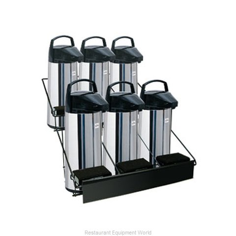 Update International APRK-6A Airpot Serving Rack