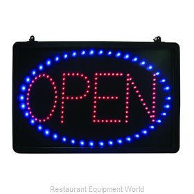 Update International LED-OPEN Sign, Lighted