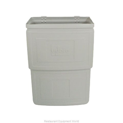 Update International RB-168N Trash Receptacle, for Bus Cart