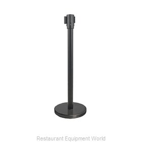 Update International RS-36BK/N Crowd Control Stanchion (Portable)