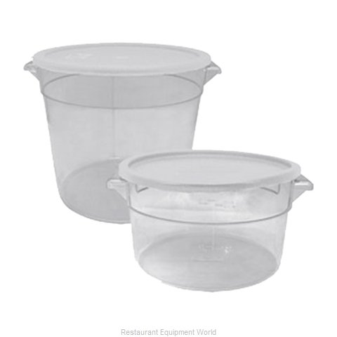 Update International SCR-22PC Food Storage Container, Round (Magnified)