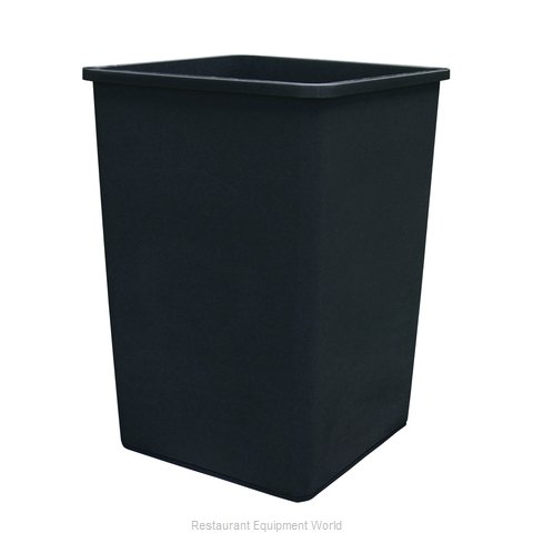 Update International TCSQ-35B Trash Receptacle, Outdoor/Indoor