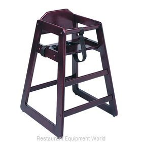 Update International WD-HCM High Chair, Wood